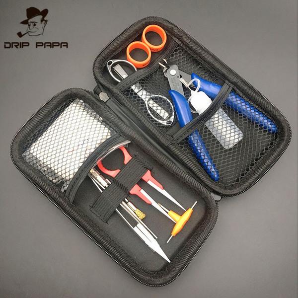 Foggyman newest vape DIY tools kits coil jig ceramic tweezers wire coiling tools for E cigarette RBA RDA Atomizers DIY vaporizer