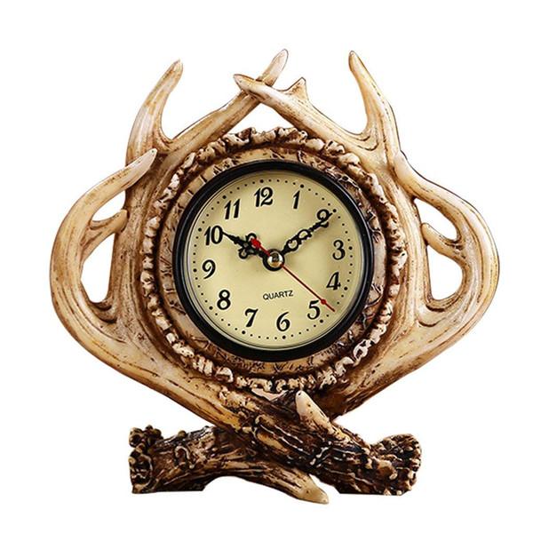 Resin Crafts Decoration bedroom living room bar Home Decoration Vintage clock Alarm clock