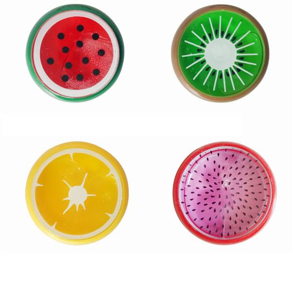 1 Pc Fruit slime toy polímero Magnético Argila cor De Cristal lama slime transparente para Crianças Mão Inteligente Plasticina Lama Playdough