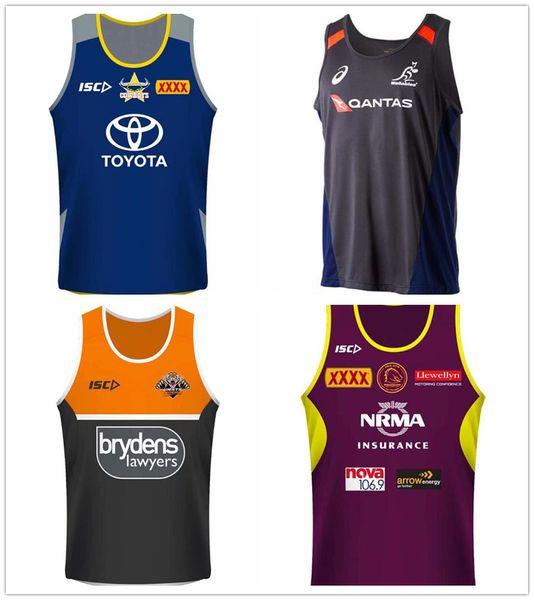 best selling Cowboys Tigers Brisbane Mustangs Fiji New Zealand football team jersey NRL National League vest jerseys nrl jersey Singlet shi