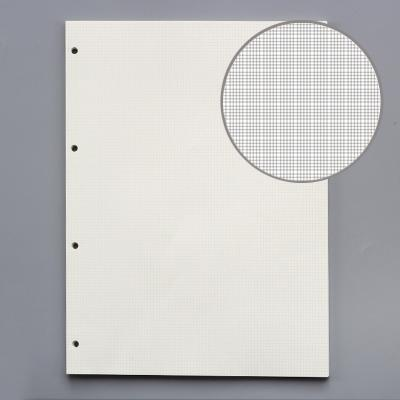 A4 2.5mm grid 4holes 45 sheets of paper
