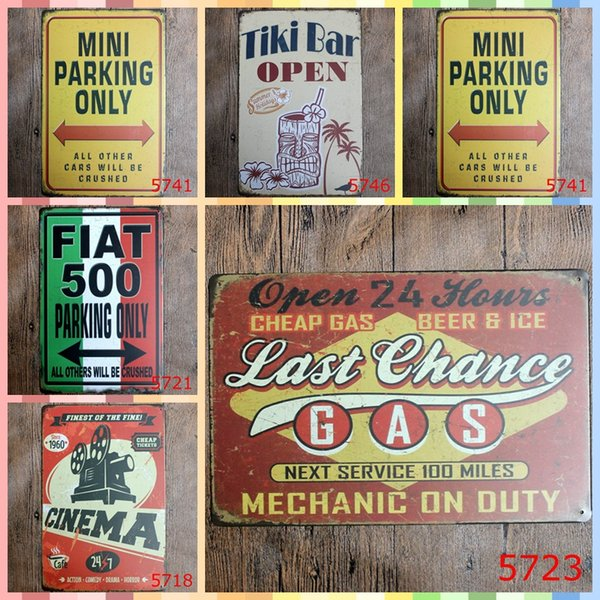 CHEAP GAS BEER ICE 20*30cm Metal Tin Signs Luxury Home Decor Bedroom Wall Decorations Crafts Art Painting Supplies