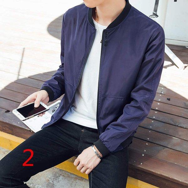 Giacca da mezza età, cappotto primaverile sottile, versione maschile coreana, abbigliamento da uomo leggero 2017, stagione primaverile e autunnale, giacca fresca, papà
