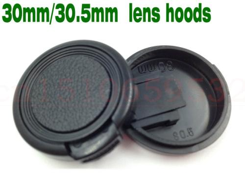 10pcs 30 30.5mm Snap-On Lens Front Camera Lens Cap Cover without rope for 30 30.5mm filter DSLR Protector