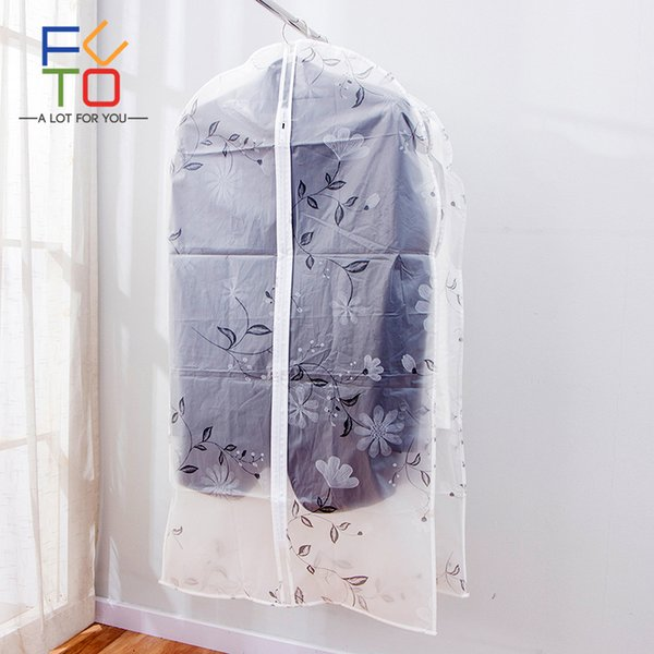 3 Pcs/Set Clothes Suit Cover Evening Dress Wedding Dust Cover Bag Wardrobe Hanging Garment Gags Travel Cloth Storage Bags