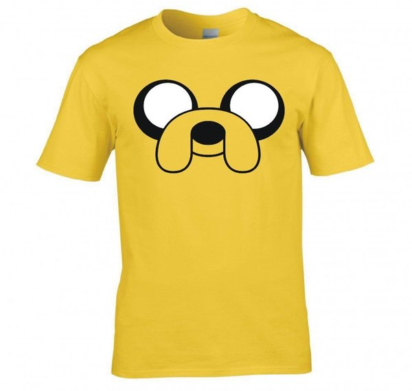 """Details zu ADVENTURE TIME """"JAKE THE DOG, FACE"""" T SHIRT NEW Funny free shipping Unisex Casual tee gift"""