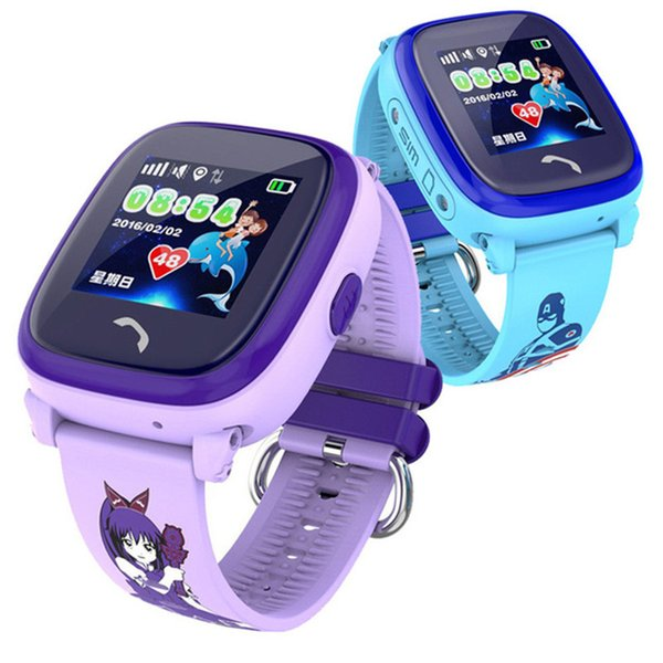 Waterproof GPS Smart Watch Kid Watch Clock SOS Call Location Device Tracker Children Safe Anti-Lost Monitor Remote Voice Monitor