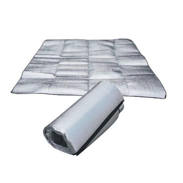 1 Unidades 200 CM Papel de Aluminio Impermeable EVA Camping Mat Plegable Plegable Dormir Picnic Playa Colchón Al Aire Libre Mat Pad