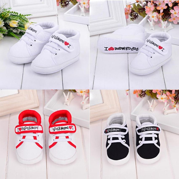2018 Newborn Baby Infant Kid Boy Girl Summer Soft Sole Pu Shoes Canvas Sneaker Toddler Shoes Anti-slip For Newborn New Hot