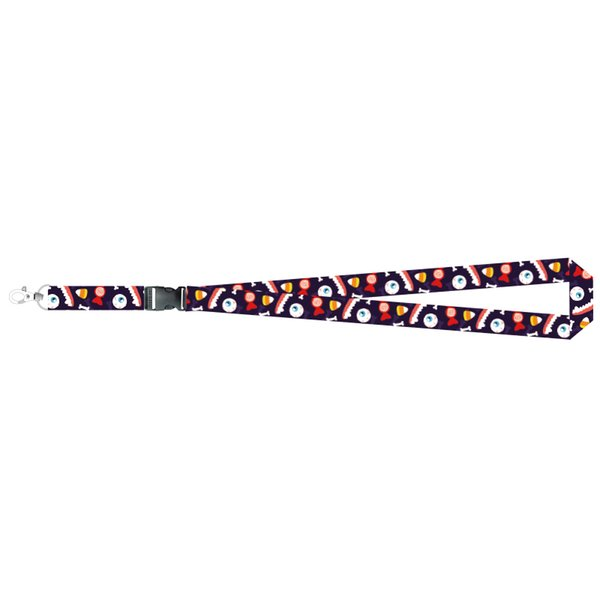 eonpin OEM Halloween Lanyard Necklace Chain String with Clip E-Cigarette Neck Chain Phone ID card Rope brand lanyards 55cm