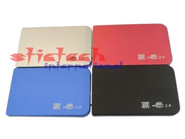 En gros - par dhl ou ems 50 ensembles Nouveau boîtier de disque dur externe de haute qualité 2,5