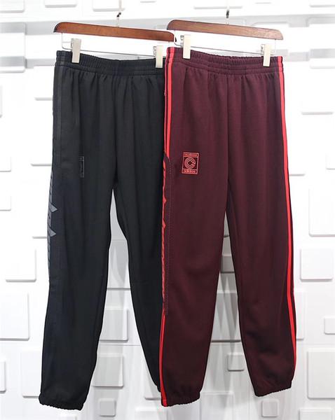 best selling Authentic Quality Kanye west Season 4 Crewneck Sweatpants CALABASAS Pants Men loose Joggers Comfortable Men Elastic Pants Hip Hop KMK0050-4