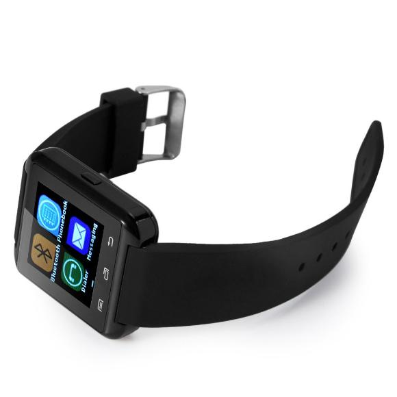 1pc Popular U8 Smartwatch Android Watch Clock Passometer Touch Screen Answer and Dial Phone Retail Box Smartwatch U8
