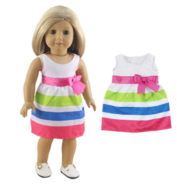 """American Girl BITTY BABY  PINK ROSE DRESS for 15/"""" Dolls Clothes Outfit NEW"""