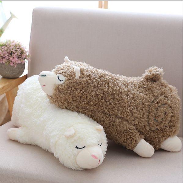 Lovely Doll Cloth Doll Fashion Plush Creative Animals Wool Toys Stuffed Sheep Horse Alpaca Soft Pillow Doll