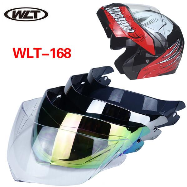 Special links for lens!flip up motorcycle helmet shield for WLT-168 full face motorcycle helmet visor 4 colors