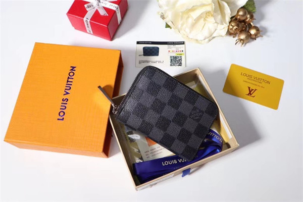 Aaa Best Fashion Box Logo Porte Carte Simple Card Holder Visitenkarten Etui Neu Authentic Quality Come With Original Box And Receipt Awesome Wallets