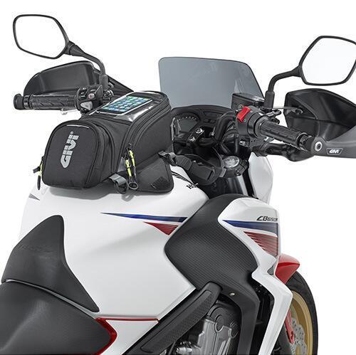 GIVI Motocicleta novo saco de combustível saco de navegação do telefone móvel multi funcional pequeno tanque de óleo pacote de correias fixas magnéticas fixo gv3