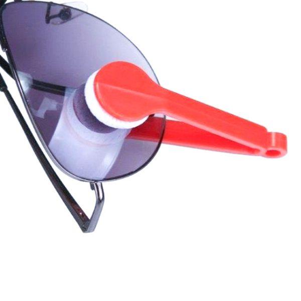 10шт мини микрофибры очки очиститель микрофибры очки Солнцезащитные очки чистых чистый протрите инструменты