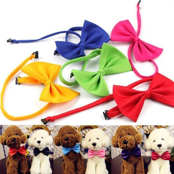 Ayarlanabilir Köpek Kedi Papyon Moda Sevimli Köpek Yavru Kedi Yavru Pet Oyuncak Çocuk Papyon Kravat Giysileri