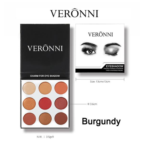 Makeup Eyeshadow 9 Colors kilie Kit Glitter Eye Shadow Diamond Smoky Palette Professional Make up Bronzer Korea Cosmetic