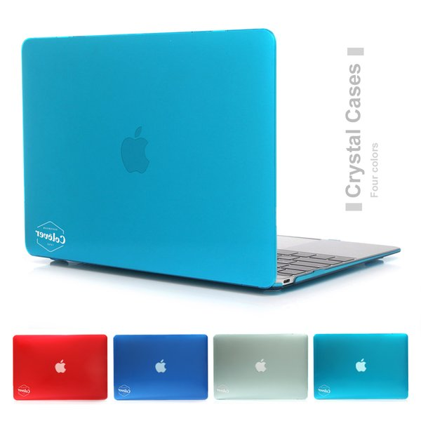NEW Crystal Anti Scratch Hard Case Cover For Macbook Mac book 11 13 15 Air Pro Retina 11.6 12 13.3 15.4 inch Laptop Cases