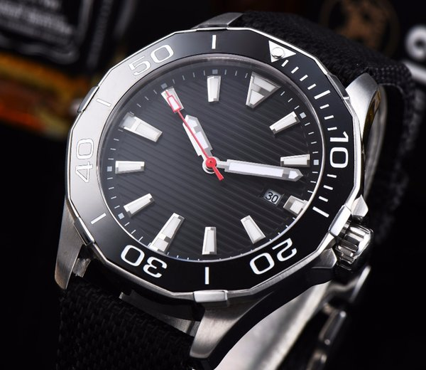 CORGEUT 45mm black dial rotating ceramic bezel date luxury stainless steel MIYOTA leather automatic movement men's watch C1