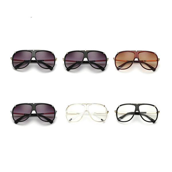 Big Frame Eyeglasses Suit Many Face Fashion Design Sun Glasses For Men And Women European Style Modern Sunglasses Star Favor 20fd Z