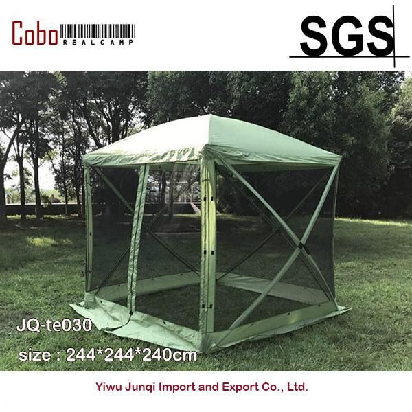 QUICK SET TRAVELER PORTABLE CAMPING OUTDOOR GAZEBO POP UP CANOPY SHELTER WITH FLYS