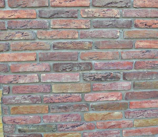 2pieces /Lot 20 Bricks Antique Brick Maker Mold Garden House Path Road Concrete Plastic Wall Tiles Cement Molds Diy Decor Tool