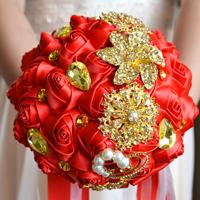 Красный + золото