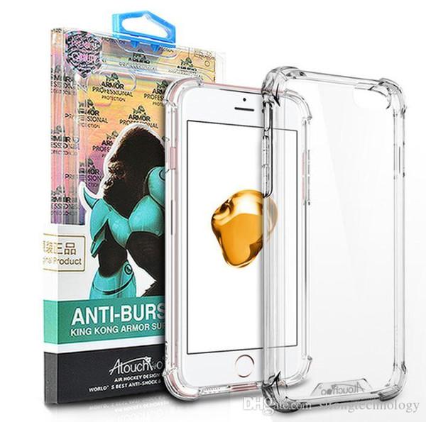 Case für ipone 8 case cover ultradünne weiche tpu case transparente schutzhülle rückseitige abdeckung für ipone 6 7 8