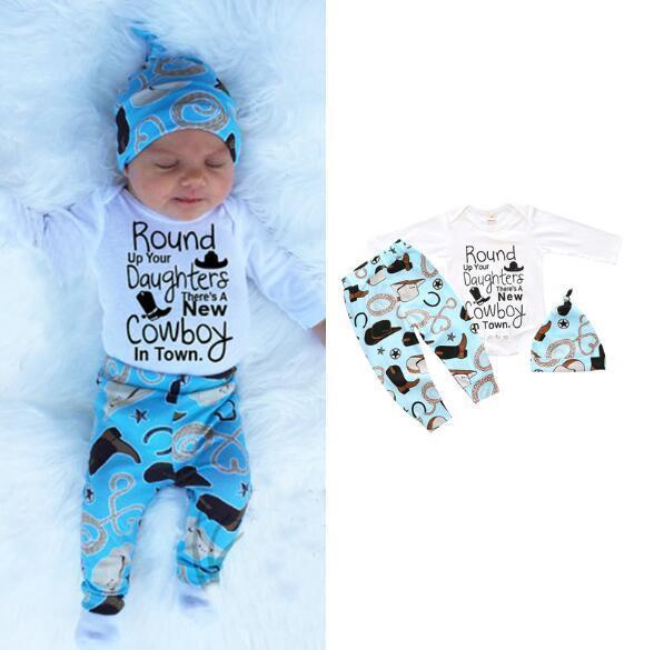 15 projeto Jumpersuits Natal Mamãe Urso Terno Do Bebê Cervo impressão Suéter + Calça + chapéu Terno de Outono e Inverno Moda roupas Infantis