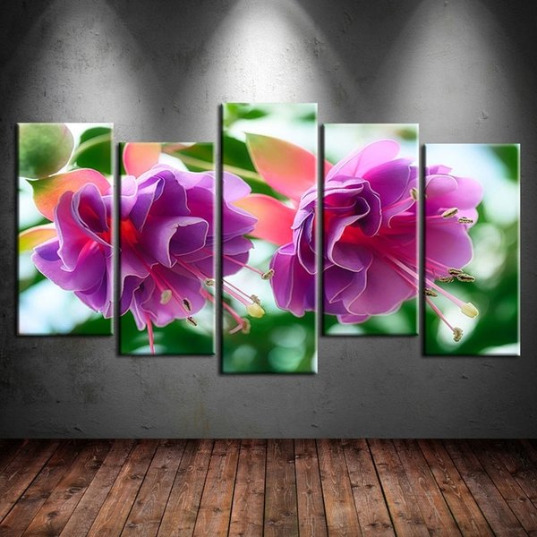 Fury or Love,5 Pieces Canvas Prints Wall Art Oil Painting Home Decor (Unframed/Framed)