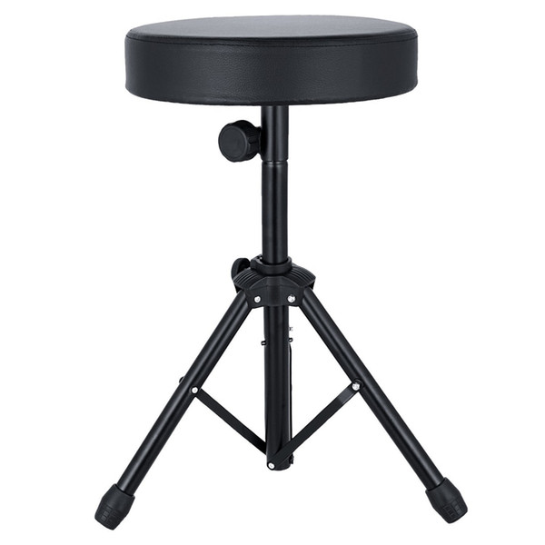 best selling Profession Universal Folding Drum Throne Drum Chair Adjustable Padded Drum Stool with Anti-Slip Feet