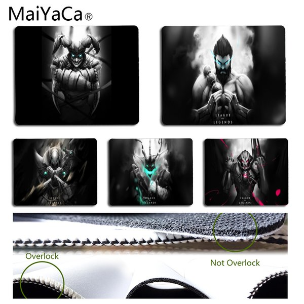 MaiYaCa New Arrivals Hero For LOL Durable Rubber Mouse Mat Pad Size for 180*220*2mm and 250*290*2mm Mousepad