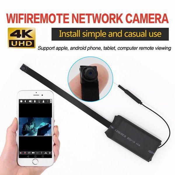 Haute Qualité HD 4K 1080P Portable Mini Caméra Wifi Numérique Enregistreur Vidéo Module DIY Module Caméra Mini DV IOS Android Téléphone APP À Distance Vue
