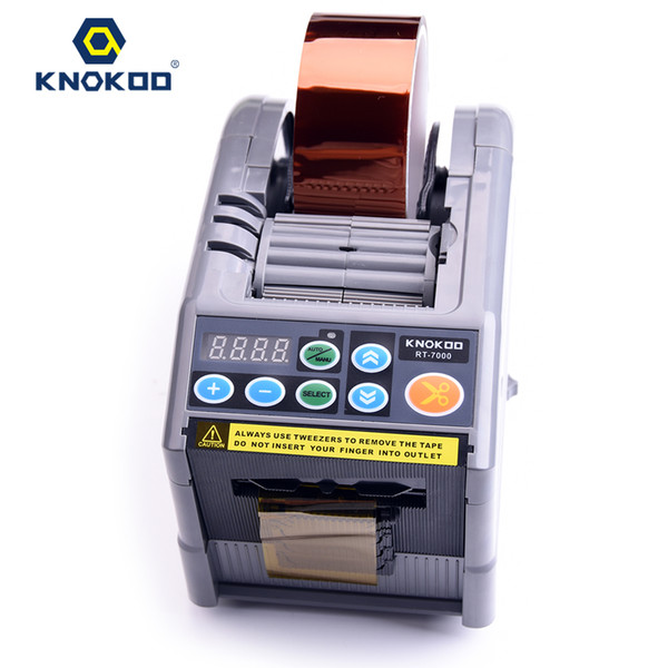 top popular Hot sale KNOKOO RT-7000 Automatic Package Tape Dispenser and Tape Cutter for 6 ~ 60mm Width Tape 2021