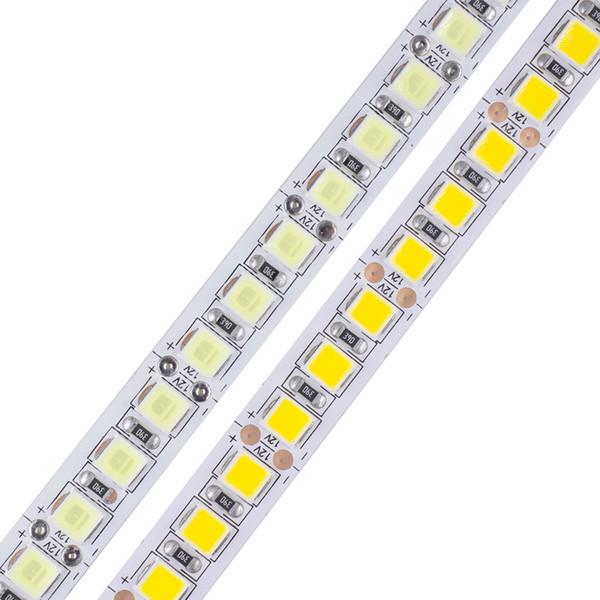 5m/roll 600 LED 5054 Highlighted LED strip 12V flexible light 120 led/m High brightness LED strip white/warm white
