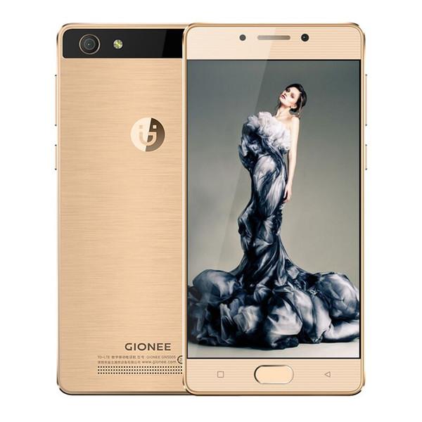 Original Gionee Kingkong 2 GN5005 3GB RAM 16GB ROM 4G LTE Mobile Phone MT6737 Quad Core 5.0inch 8.0MP Fingerprint ID Smart Cell Phone New