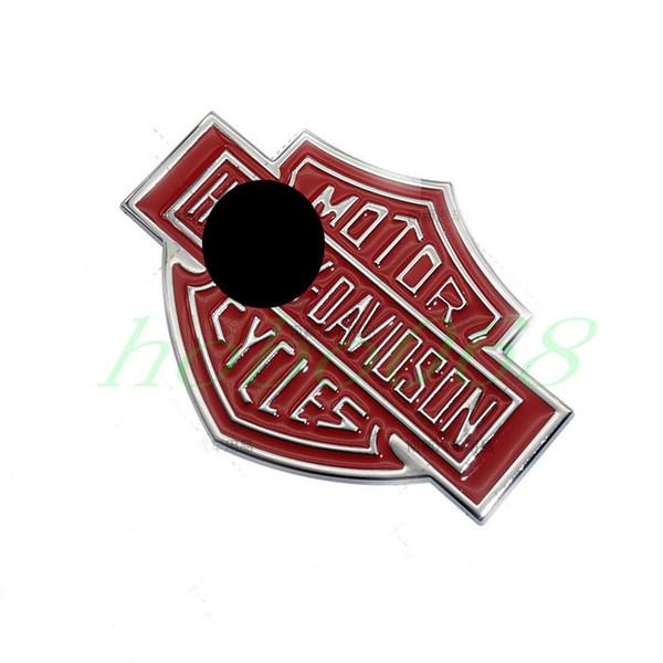 Мотор украшения аксессуары эмблема крыло стикер сторона наклейка DIYHALEY красный черный золотой 10.7*7.6 см