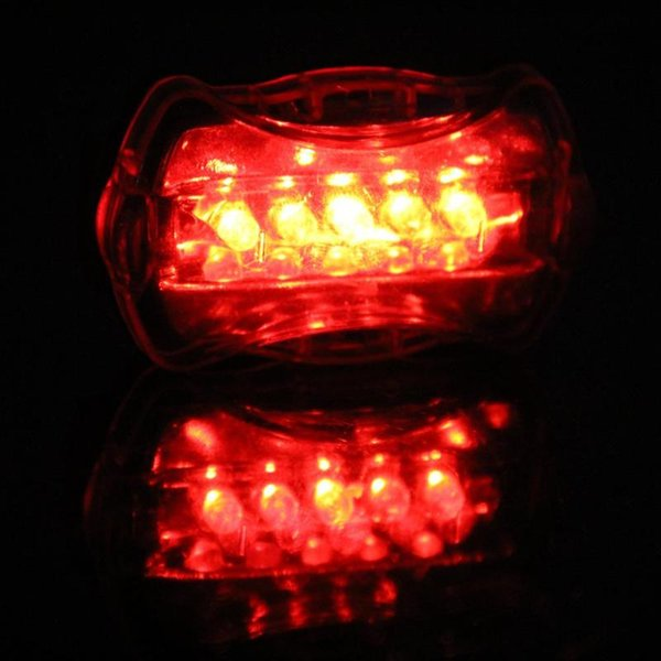 New Bicycle Light 5 LED Mountain Bike Speedometer Wired Cycling Front Light and Rear Lights Lamp Bicycle Accessories