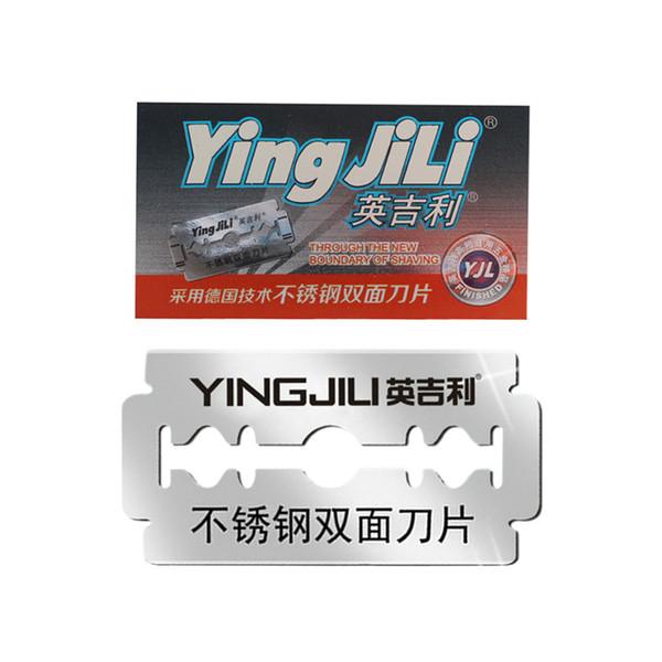 Standard Level Double Edge Blade Safety Razor blades US Razor Blade Refill, 100PCs(Yingjili RD211)