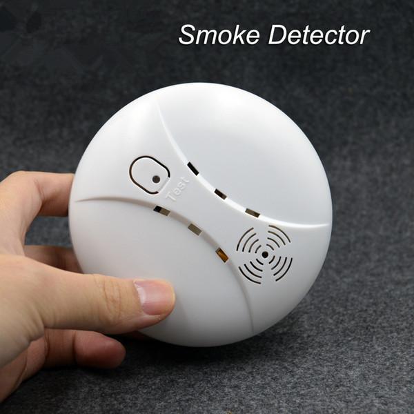 Sistema de alarma inteligente de humo inalámbrico Accesorios de alarma Detector de incendio sensible para sistema de alarma casera de seguridad GSM inalámbrico
