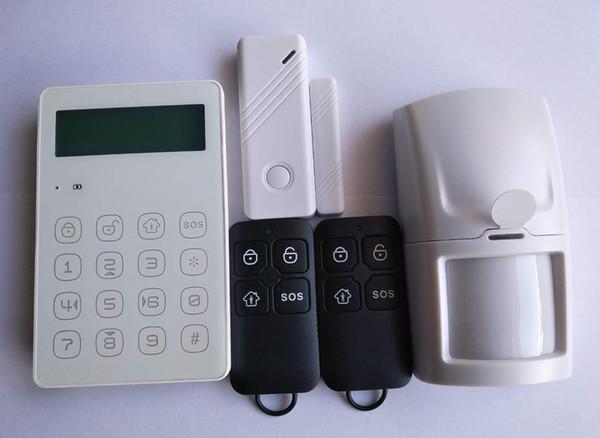 Wolf Guard Gsm Sms Home Alarm Security System App Control Door Windows Sensor Pir Motion Detector Keyfobs 433mhz Cheap Burglar Alarm Systems Cheap