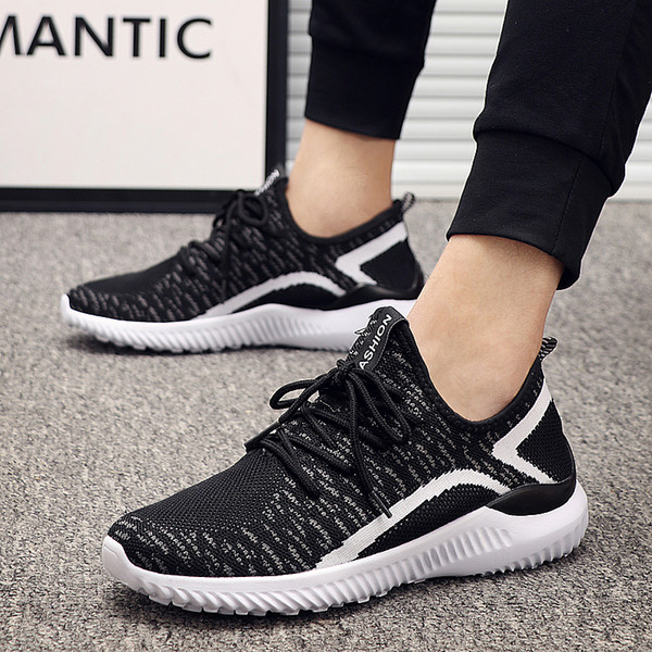 Summer Casual Shoes For Men Fashion Lace Up Big Plus Size Couple Unisex Trainers Sneakers Male Footwear Mens Mesh Shoe