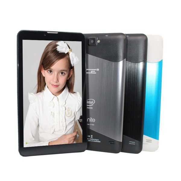7 inch intel Atom Quad Core 1024*600 Dual cameras Bluetooth 3G Phone Call Quad Core WiFi FM 1GB+8GB Anroid 5.1 Tablet Pc