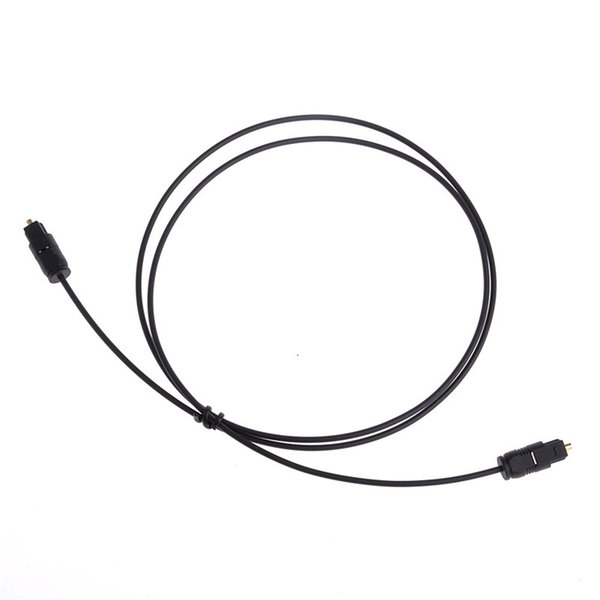 2.2mm Digital Optical Audio Cable Optic Fiber Cord Wire Black For CD/DVD Players