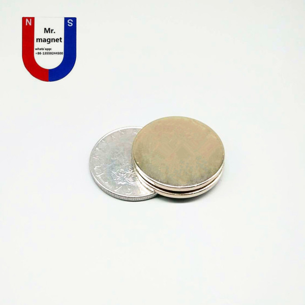 wholesaler 30pcs super strong 25x3 magnet 25*3 N35 permanent rare earth magnet 25mm x 3mm industry neodymium magnet D25x3mm