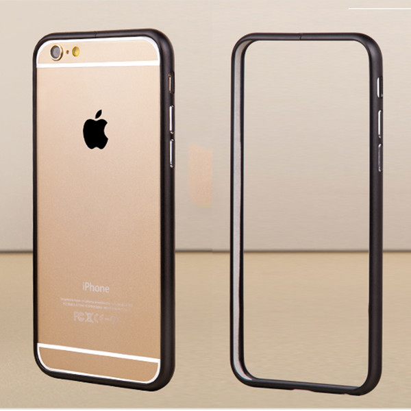 Free shipping Global hits For iphone 6 plus bumper case Luxury Aluminum Pure Color mobile case Frame Metal Phone Case Cover Coque